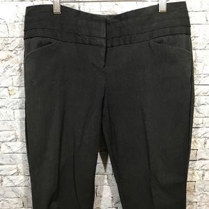 The Limited Exact Stretch charcoal grey pants